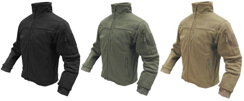 Condor Outdoor Alpha Fleece Tactical Jacket - Reinforced All Weather Jackets