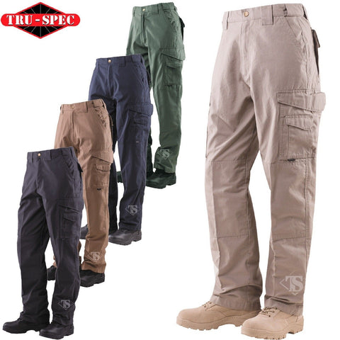 Tru-Spec 24-7 Series Tactical Pants - Men's 100% Cotton Field Duty Cargo Pants