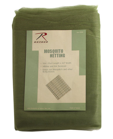 G.I. Type Mosquito Netting -Military Style Bug/Insect Repeller 20 yds x 5 Feet