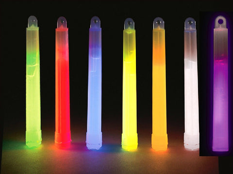 Glowsticks - Glow-In-The-Dark Chemical Lightsticks Camping Glow Stick