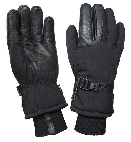 Black Cold Weather Waterproof Military Glove/Mitten - Small, Medium, Large, XL