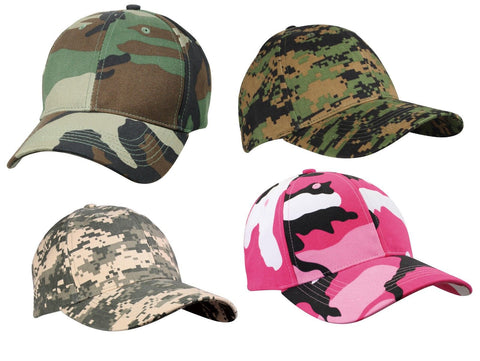 Camo Caps - Woodland Woodland Digital, ACU Digital, And Pink Camo - Camoflauge