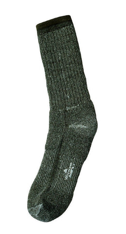 Wigwam Olive Drab Merino Wool Socks - Pair - Extra Warmth And Moisture Wicking