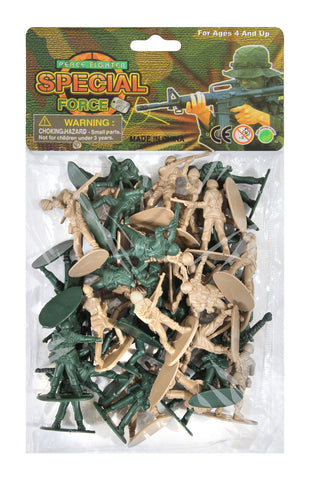 Army Men Toy Playset 40 Piece WWII - Toy Soldiers