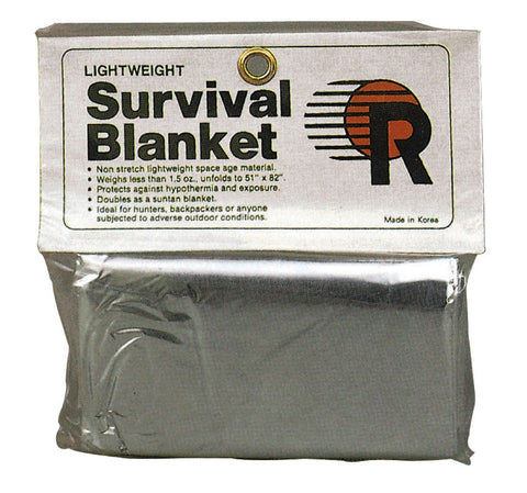 Polarshield Survival Blanket - Reflects 90% Body Heat Emergency Camping Blanket