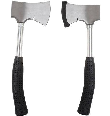 Camping Axe - Deluxe Stainless Steel Camp Axe - Hiking,Outdoors Axe w/ Cover