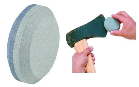 Lansky THE PUCK Dual Grit Sharpener for Knife Tools Axe Ax Blades