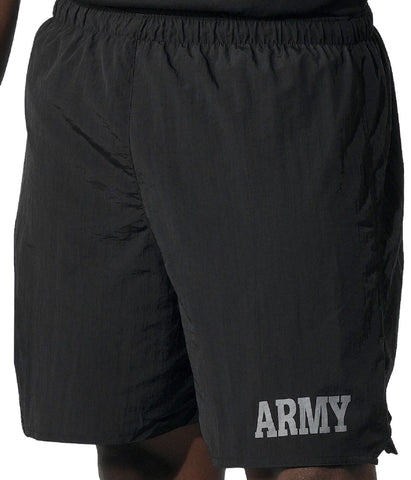 "Rothco Black Physical Training ""Army"" Shorts"