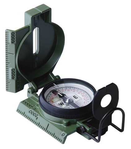 G.I. Military Phosphorescent Lensatic Compass Model 27