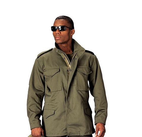 Rothco Olive Drab M-65 Field Jacket with Removeable Liner