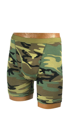 Mens' Boxer Briefs - Woodland Camouflage And ACU Digital Camouflage