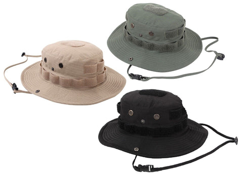 Tactical Rip-Stop Boonie Hat Outdoor Vented Cotton Jungle Bush Bucket Hats