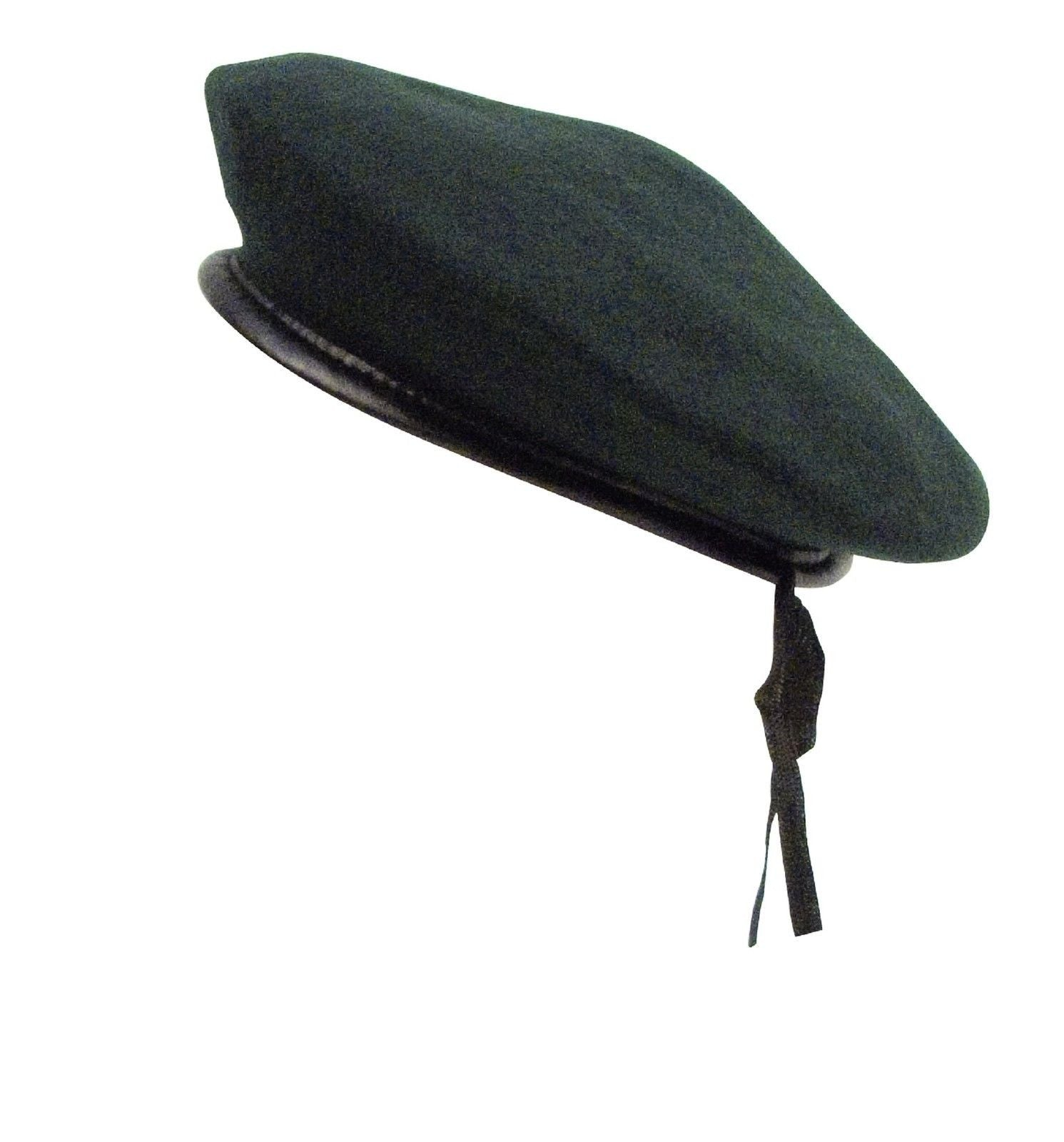 GI Style Beret Black Red OD Green Woodland Camo Military