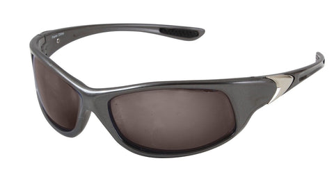 .25 ACP Sunglasses - Gun Metal Gray Inexpensive Sunglasses w/ Smoke Lense