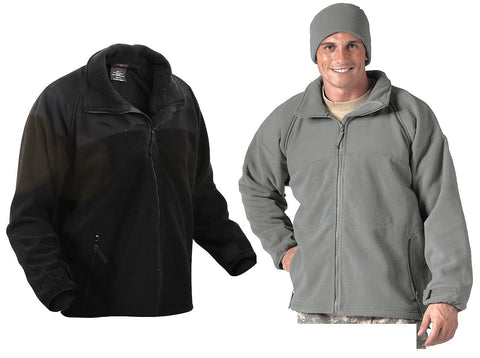 Warm Polar Fleece Jacket ECWCS Gen II Lightweight Cold Weather Liner