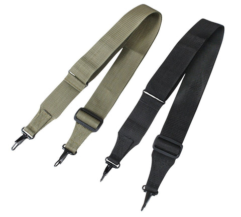 Tactical Utility Straps - General Purpose,Duffle Bag, Sports Bag Strap-Black, OD