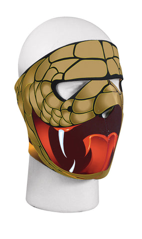 Neoprene Full Face Mask - Cobra Design