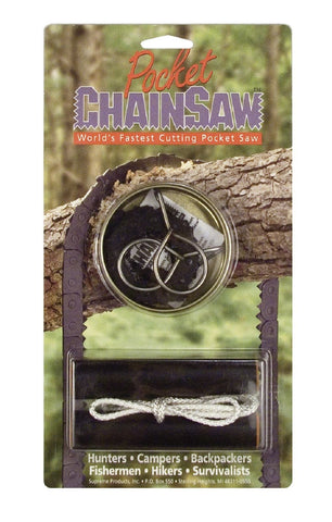 Pocket Chain Saw - 'Short Kutt' for Campers and Survival US Made