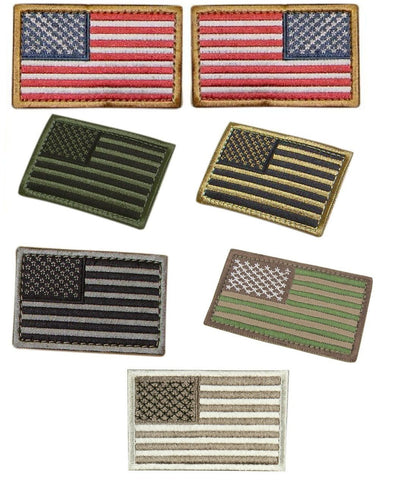 Condor USA Flag Velcro Patches