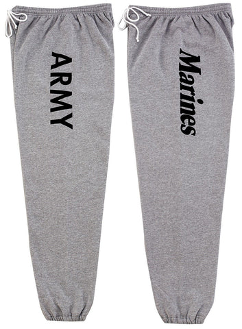Army Marine Super Comfy Sweatpants - GI Type Military Physical Training Gym Wear