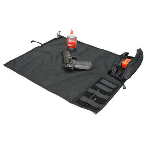 Condor Roll-Up Gun Cleaning Mat 218 - Black, Tan, OD Lightweight Gun Mats