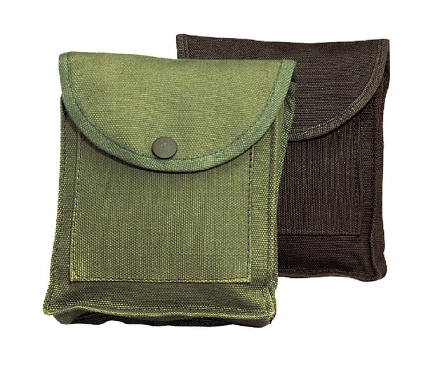 Canvas utility pouch w belt loop hiking camping compact for How to make a paracord utility pouch