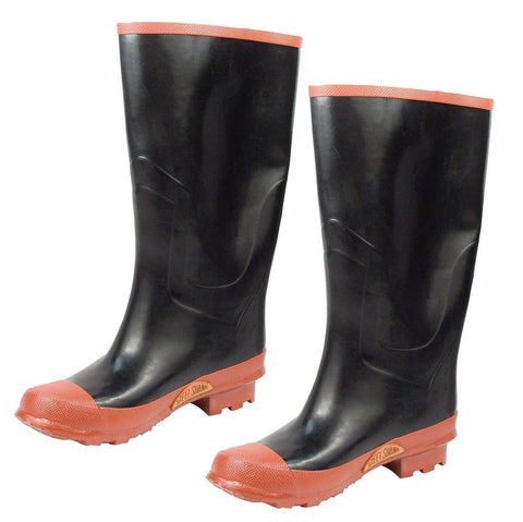 Rubber Knee Rain Boot Size 5-13 / Rainboot Great For Wet Weather Snow Mud & More