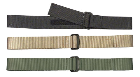 Heavy Duty Nylon Rigger's Duty Belt - Black, Khaki, OD