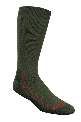 Wigwam Minus 40 C Silver Socks - Olive Drab - Fully Cushioned