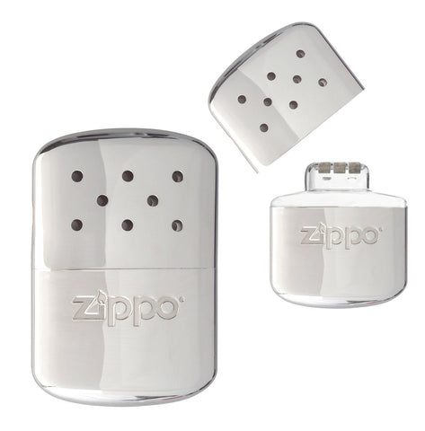 Zippo Deluxe Hand Warmer - Includes Hand Warmer, Warmer Bag, & Filling Cup