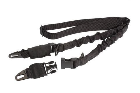 Black 2-Point Gun Sling - Military Style by Rothco