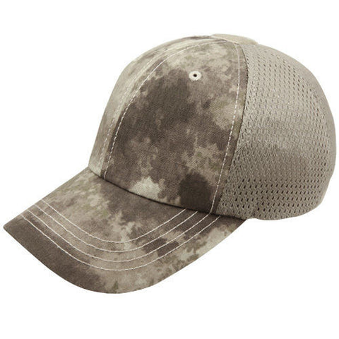 Condor Mesh Tactical Team Cap - Front Patch Removed for Embroidery