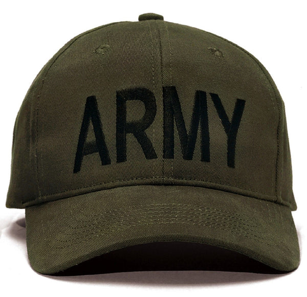 Army Baseball Caps Black Olive And Woodland Camo
