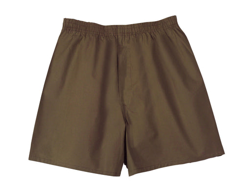 G.I. Type Mens' Brown Boxer Shorts