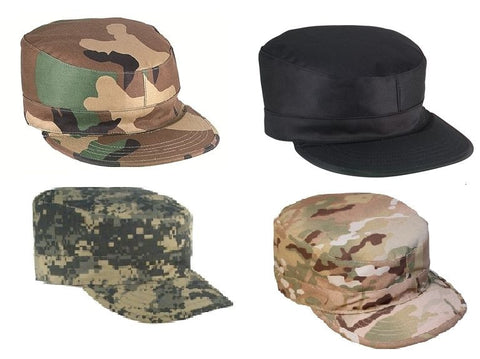 2 Ply Army Ranger Caps - Gov Spec Military Fatigue Hat w/ Map Pocket