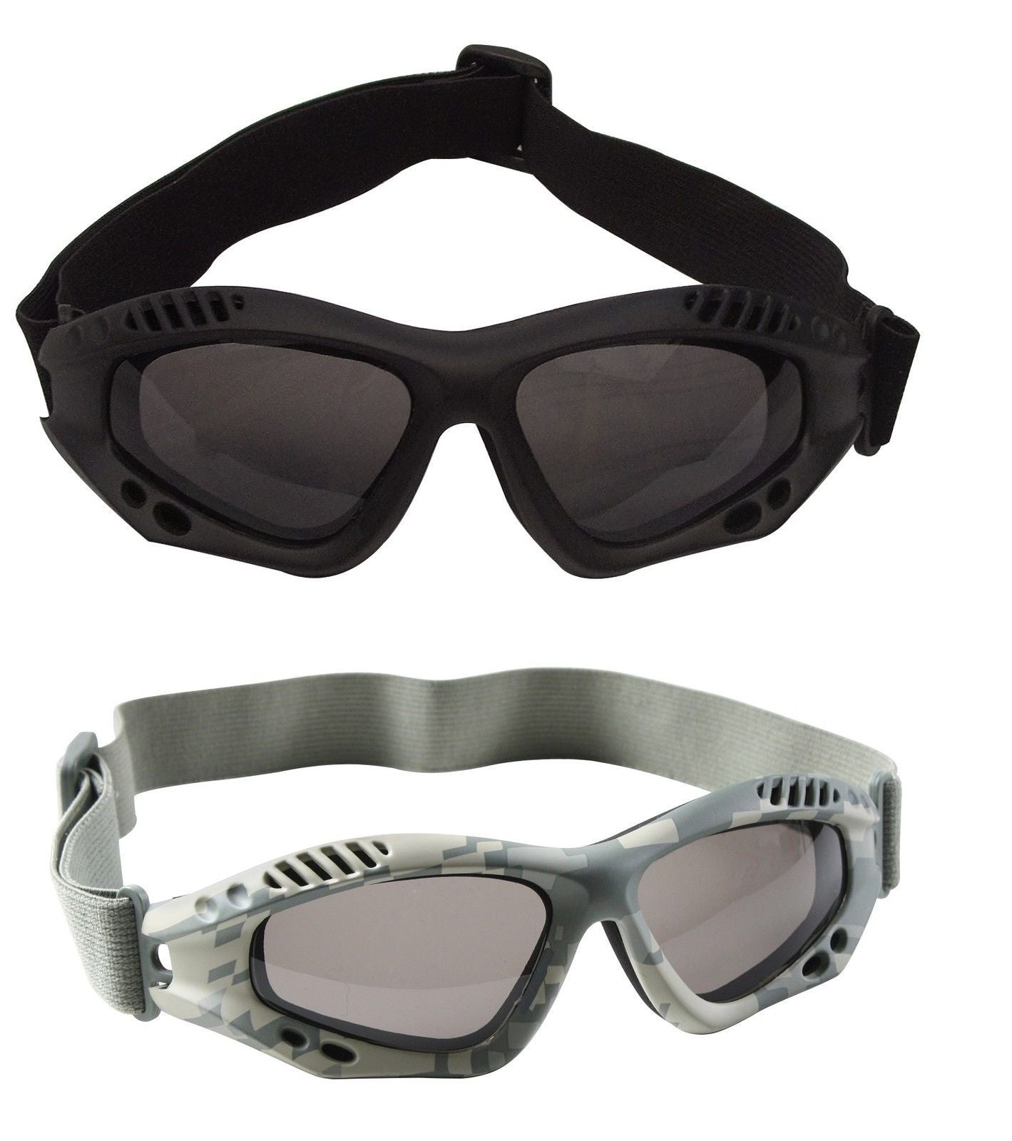 3 Pack Set Anytime Packall Weather Protective Motorcycle Riding Goggle Glasses