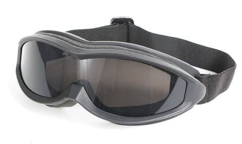 Sportec Tactical Goggles - Anti-Fog, Anti-Scratch Smoke Grey Lens - Snow Sports