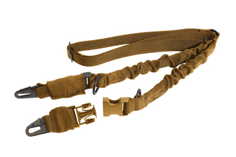 2- Point Gun Sling - Military Style - Coyote Tan