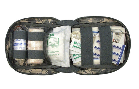 ACU Digital First Aid Trauma Kit - MOLLE Compatible Camouflage First Aid Kit