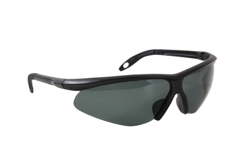 0fade2723d0 .44 Caliber Polarized Lens Sport Glasses - Cool Black Sunglasses! Safety  Eyewear .