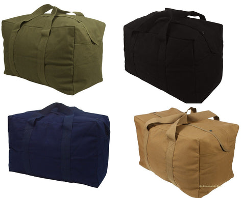24 Inch Heavyweight Canvas Gear Bag - Can use for Parachute Duffle Carry