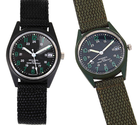 GI Type Vietnam Wind Up Watch Rothco Retro Military Wind-Up Wristwatch