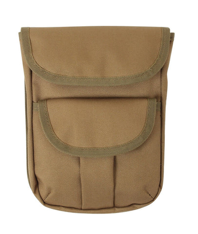 MOLLE Compatible 2- Pocket Ammo Pouch - Coyote Tan