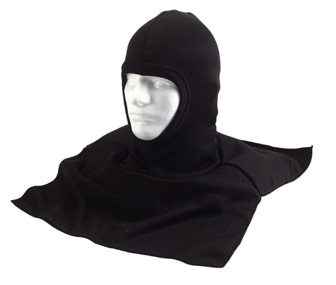 Black Balaclava w/ Dickie Cold Weather Winter Head, Neck & Shoulder Warmer 5522