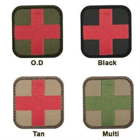 Condor Medic Patch - Velcro Hook and Loop - Tan Olive Black MultiCam