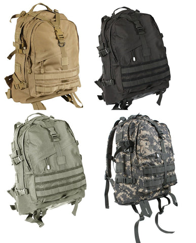 Rothco Large Transport Pack - Backpack,Rucksack - Black,Coyote Tan, Foliage, ACU