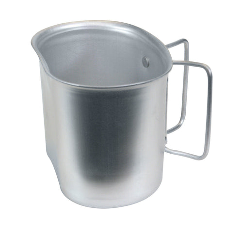 G.I. Style Aluminum Canteen Cup - Butterfly Handle