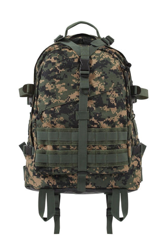 "Transport Pack - Woodland Digital Large Transport Hiking Backpack 19""x15""x8"""