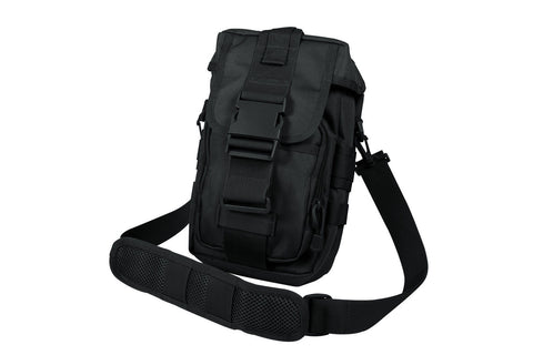 Flexipack MOLLE Tactical Shoulder Bag - Black