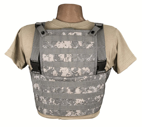 ACU Digital MOLLE Ranger Rack Vest Tactical Combat Vests w/  MOLLE Attachments